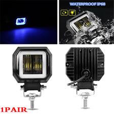 2PCS 3Inch 12V 24V 6000K 40W Waterproof  LED Light Pod Spot Work Driving Light