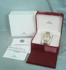 Vintage 1998 Men's Omega Seamaster 120M Quartz Wristwatch 18K & Stainless Steel