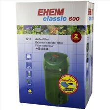 Eheim Classic 600 - 2217  (With Sponge Media) Canister Filter
