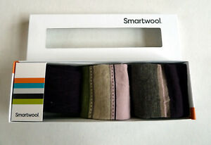 New Women`s Smartwool Ultra Comfy Trio 3 Sock Gift Set Merino Wool MSRP$60
