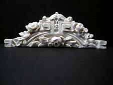 Dollhouse Cast Resin Over Door/Window Pediment T2