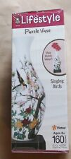"""LIFESTYLE 3D PUZZLE VASE SINGING BIRDS 160 PIECE """"IT REALLY HOLDS WATER!"""""""