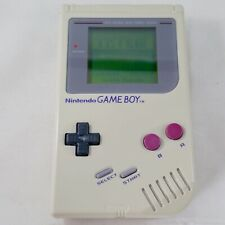 1989 Nintendo Original Gameboy DMG-01 - Grey - VGC Tested, Working - new glass