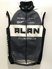 Verge Warsaw Winter Cycling Vest Fleece Size Medium Gray White Alan Bicycle