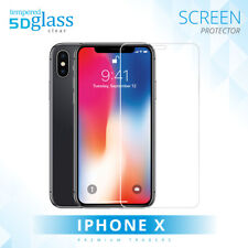 5D Full Coverage Edge to Edge Fit Tempered Glass Screen Protector For iPhone X