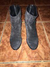 Rag & Bone Ryland Boot Asphalt Suede Sz 35