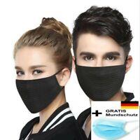 Behelfsmaske Mundmaske  Gesichtsmaske Wiederverwendbar Waschbar Mundschutz Maske