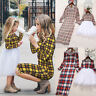 USA Mother&Daughter Clothes Parent-child dress Family Matching Outfits Baby Girl