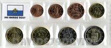 SAN MARINO 2007 -  SERIE COMPLETA 8 MONETE IN  EURO _ FDC IN BLISTER