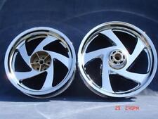 01-16 Chrome Honda GL1800 Goldwing Rims Wheels Front Rear Exchange Only
