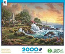 CEACO 2000 PUZZLE SEASIDE HAVEN THOMAS KINKADE #3501-5
