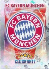 Fußball-Bayern München Topps-Trading Cards Erscheinungsjahr 2016