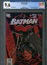 Batman #655 (1st Damian) Cgc 9.6 White Pages