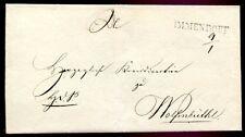 IMMENDORF 1840 ca VORPHILABRIEF nach WOLFENBÜTTEL(C1241