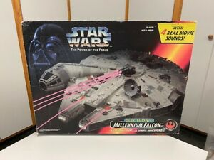 Star Wars Power Of The Force Han Solo's MILLENNIUM FALCON 1995 Kenner - NIB!