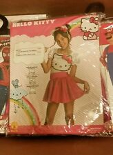 Halloween Costume Hello Kitty Tutu Dress Up GIRLS TODDLER 4-6 NEW