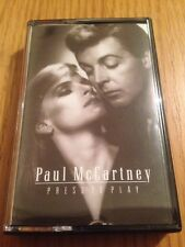 PAUL McCARTNEY - Press To Play - 1986 Cassette Tape - VG+ Condition