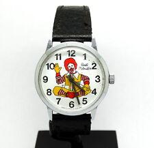 FUN Vintage RONALD MCDONALD Lafayette Co Hong Kong 17 Jewels Winding Watch 37mm