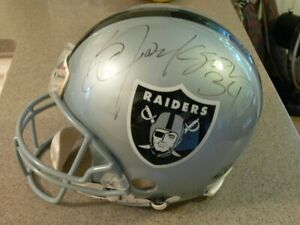 Bo Jackson Autographed Oakland Raiders Authentic Full-Size Football Helmet