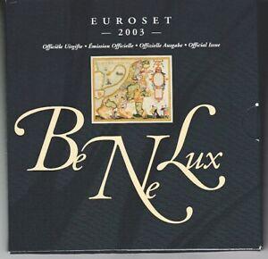Benelux Euroset 2003 - Emballage D'Origine