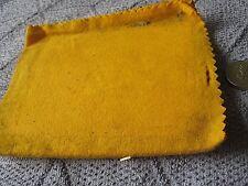 shoe polish cloth, folded, vintage unused 1953 coronation, Meltonian shoe kit