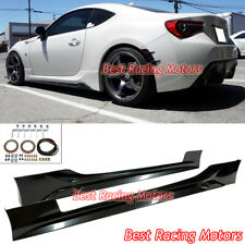 T Style Gen Ii Side Skirts (Abs) Fits 12-21 Scion Fr-S / Toyota 86 / Subaru Brz (Fits: Scion)