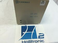 Kanomax CR LPC Laser Particle Counter Model 3782-03