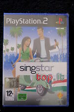 PS2 : SINGSTAR : TOP IT - Nuovo, risigillato, ITA ! Entra in classifica !