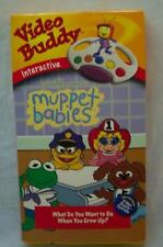 Jim Henson MUPPET BABIES What do you want to be VHS VIDEO 1999 VIDEO BUDDY