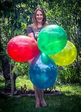 "10 x / 100 x Unique 16"" Riesenluftballons DIVERSE FARBEN * CHOOSE YOUR COLOR"