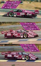 Calcas Jaguar XJR-12 Le Mans 1991 1:32 1:43 1:24 1:18 XJR 12 slot decals