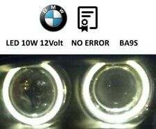 BMW X3 E39 ANGEL EYES LED luce di posizione BA9S tested and compatible 10W 12V