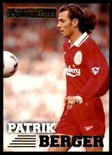 Merlin Premier Gold 1996-1997 - Liverpool Patrik Berger #82