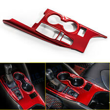 Red Abs Inner Gear Shift Box Panel Frame Cover Trim For Toyota Camry 2018 2019