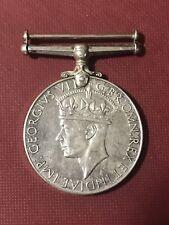 Georgivs Vi D G:Br:Omn: Rex Et Indiae IMP 1939-1945 Medal