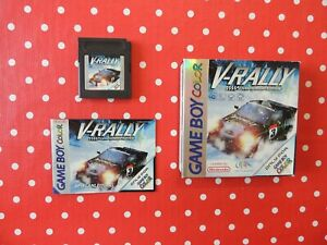 V-Rally Championship Edition Nintendo Gameboy Color Advance SP OVP mit Anleitung