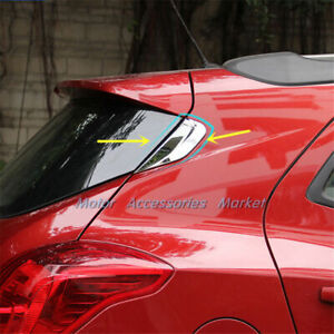 Chrome Rear Window Cover Trim For Opel Vauxhall Mokka Buick Encore 2013-2021