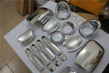CHROME Trim Set Handle Fog Light Side Lamp Mirror for Nissan X-Trail 2012 2013