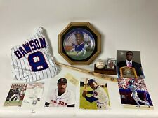 ANDRE DAWSON CHICAGO CUBS PLAYER ITEM LOT