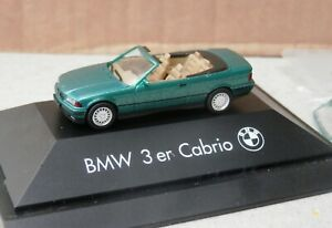 Herpa BMW 3ER Cabrio Hardtop - 1:87 scale - Dealer's Model