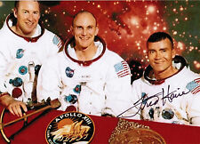 FRED HAISE SIGNED AUTOGRAPHED PHOTO NASA ASTRONAUT Apollo 13 AUTHENTIC