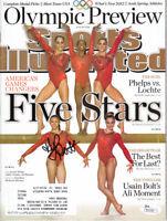 Kyla Ross autographed signed auto Fierce 5 2012 Olympics Sports Illustrated JSA