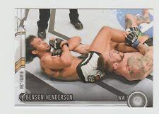 Benson Henderson UFC 2015 Topps Chronicles#126