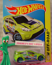 Case L 2015 Hot Wheels '12 FORD FIESTA #78∞Sublime Green/Blue; 21∞Road Rally