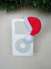 MP3 Player with Santa Hat Christmas Ornament  BRAND NEW