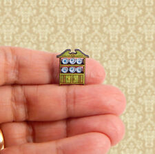 1//144th Scale Dollhouse Miniature Victorian Room Divider 3 Panel Floral Tiny!!