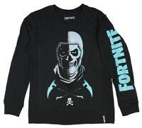 Epic Games Fortnite Big Boys Skull Trooper Long Sleeve T-Shirt