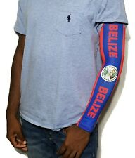Belize Belizean Arm Sleeve Flag 1 Sleeve Sunblock Cooler Protective Sports