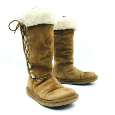 Ugg Australia Upside Chestnut Brown Winter Snow Boot Womens Size 6