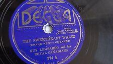 Guy Lombardo - 78rpm single 10-inch – Decca #274 The Sweetheart Waltz